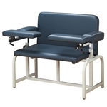 Clinton Bariatric Blood Drawing Chair with Flip-Arms