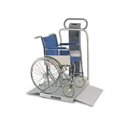 Scale-Tronix® 6002 Portable Wheelchair Scale