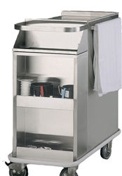 Stainless Steel Side Storage Cabinet for Cast Carts