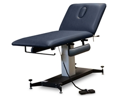 Hausmann 6071 2-Section Hi-Lo Treatment Table w/ Armrests & Adjustable Glides