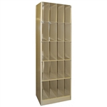 "Techno-Aide Open X-Ray File Cabinet 24""x18"" x 84"""