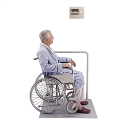 Scale-Tronix In-Floor Wheelchair Scale (KG Only)