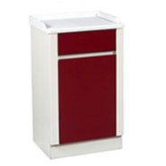 "UMF Treatment and Supply Cabinets, Treatment Cabinet,  1 door, 1 shelf, 20""W x 34""H x 16.25""D"