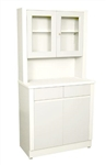 "UMF Treatment Cabinet w/ upper cabinet section, 2doors, 2 drawers, 1 shelf, 32""W x 65""H x 16.25""D"