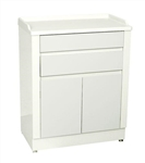 "UMF Treatment Cabinet, 2 doors, 2 drawers, 1 shelf, 27""W x 34""H x 16.5""D"