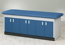 Clinton Bariatric Full Cabinet Treatment Table