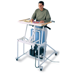 Hausmann Hi-Lo Econo-Line Stand-In Table w/ Electric Patient Lift
