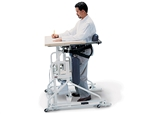 Hausmann Hi-Lo Stand-in Table with Electric Patient Lift