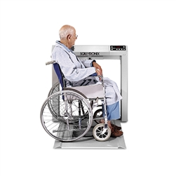 Scale-Tronix® Stow-A-Weigh® Wheelchair Scale (KG Only)