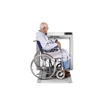 Scale-Tronix® Stow-A-Weigh® Wheelchair Scale