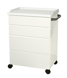 "UMF Treatment Cabinet (Mobile), 4 drawers, 25""W x 34.75""H x 18""D"