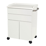 "UMF Treatment Cabinet (Mobile), 2 doors, 2 drawers, 25""W x 34.75""H x 18""D"