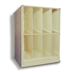 Stackable Techno-Aide X-Ray Cabinet 2-Tier