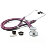 "ADC Adscope 641 Sprague Stethoscope, 22"", Boysenberry, Disposable Package"
