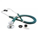 "ADC Adscope 641 Sprague Stethoscope, 22"", Caribbean Blue, Disposable Package"