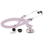 "ADC Adscope 641 Sprague Stethoscope, 22"", Frosted Lilac, Disposable Package"
