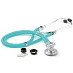 "ADC Adscope 641 Sprague Stethoscope, 22"", Frosted Peacock, Disposable Package"