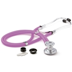 "ADC Adscope 641 Sprague Stethoscope, 22"", Frosted Plum, Disposable Package"