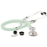 "ADC Adscope 641 Sprague Stethoscope, 22"", Frosted Seafoam, Disposable Package"