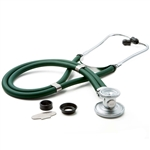 "ADC Adscope 641 Sprague Stethoscope, 22"", Green, Disposable Package"