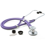 "ADC Adscope 641 Sprague Stethoscope, 22"", Lavender, Disposable Package"