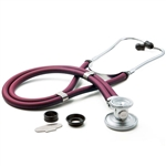 "ADC Adscope 641 Sprague Stethoscope, 22"", Magenta, Disposable Package"