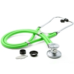 "ADC Adscope 641 Sprague Stethoscope, 22"", Neon Green, Disposable Package"
