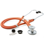 "ADC Adscope 641 Sprague Stethoscope, 22"", Neon Orange"