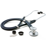 "ADC Adscope 641 Sprague Stethoscope, 22"", Navy, Disposable Package"