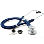 "ADC Adscope 641 Sprague Stethoscope, 22"", Royal Blue, Disposable Package"