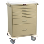 Classic Line, Six Drawer, Anesthesia Workstation, Key Lock