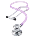 "ADC Adscope 647 Sprague-one Stethoscope, 22"", Frosted Lilac, Disposable Package"