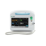 Welch Allyn Connex Vital Signs Monitor 6400 - Blood Pressure, Pulse Rate, MAP, Nellcor SpO2, SureTemp Plus and Printer