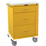 Classic Line, Three Drawer, Isolation Cart, Breakaway Lock