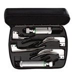 Welch Allyn Fiber Optic Laryngoscope Set - AA & Stubby Handles