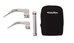 Welch Allyn Portable Standard Laryngoscope Set - AA Handle