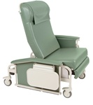 Winco XL Drop Arm Care Cliner (Nylon Casters)