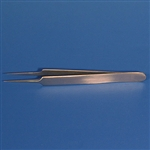 "Sklar Jewelers Forceps, Straight, Fine Tip - 4-1/2"" (#5)"