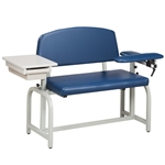 Clinton Lab X Series, Extra-Wide, Blood Drawing Chair 66002