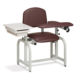 Clinton Lab X Series, Extra-Wide, Blood Drawing Chair 66020
