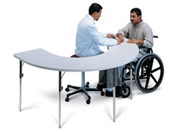 Hausmann Horseshoe Therapy Table