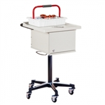 Two-Bin Phlebotomy Cart