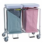 R&B Double Easy Access Laundry Hamper