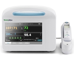 Welch Allyn Connex Vital Signs Monitor 6700 - Blood Pressure, Pulse Rate, MAP, Masimo SpO2, Braun ThermoScan PRO 6000 Thermometer