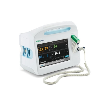 Welch Allyn Connex Vital Signs Monitor 6700 (w/Covidien Capnography) -  Blood Pressure, Pulse Rate, MAP, Nellcor SpO2 and Printer