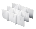 "Harloff 6"" Drawer Divider Set (Used for 6"" Drawers)"