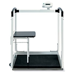 Seca EMR-Validated Multi-function Wheelchair / Handrail Scale with seat