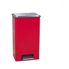 UMF Hazardous Waste Receptacle 28 Qt., Red