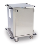 "Case Cart w/ Peforated Shelf (29"" x 48"" x 39"") (2 Doors and 1 Compartment)"