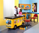 Clinton 7020-RR Zoo Bus, Pediatric Ready Room